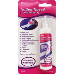 Allary - No Sew Thread Liquid Adhesive 1.2oz