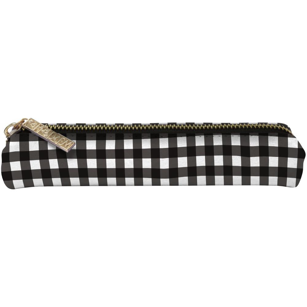 Carpe Diem - Slim Pencil Case - Buffalo Check