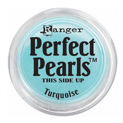 Ranger Perfect Pearls Pigment Powder .25oz - Turquoise
