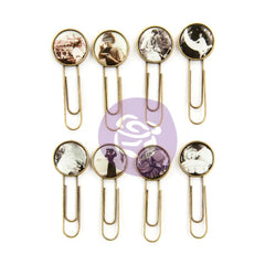 Prima Art Daily Planner Epoxy Paper Clips 8 pack