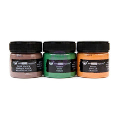 Prima Marketing - Finnabair Art Extravagance Rust Effect Paste 50ml Jars 3 pack Metal Rust