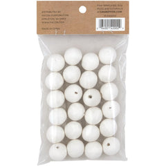 Lia Griffith Cotton Spun Paper Balls 20mm 24 pack - White