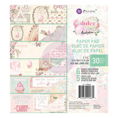 Prima Marketing Double-Sided Paper Pad 6 inchX6 inch 30 pack - Dulce By Frank Garcia, 6 Designs/5 Each