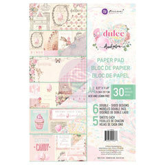 Prima Marketing Double-Sided Paper Pad A4 30 pack - Dulce By Frank Garcia, 6 Designs/5 Each