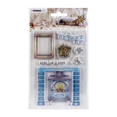 Studio Light Winter Charm Clear Stamps - NR. 490