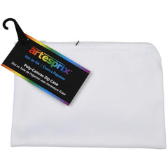 Artesprix Iron-On-Ink Poly-Canvas Zip Case - Off White - 7in x 5in