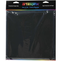 Artesprix Iron-On-Ink Protective Project Mat - Black - 9in x 9in