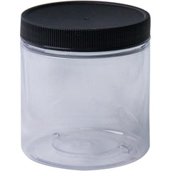 Jacquard Empty Wide Mouth Plastic Jar 8oz - Clear
