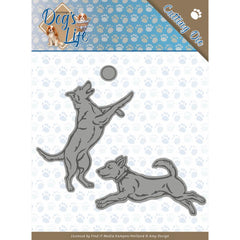 Find It Trading Amy Design - Dog's Life Die - Playing Dogs
