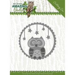 Find It Trading Amy Design Die - Night Owl, Amazing Owls