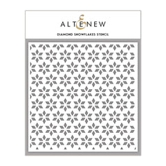 Altenew - Diamond Snowflakes Stencil