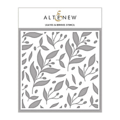 Altenew - Leaves & Berries Stencil