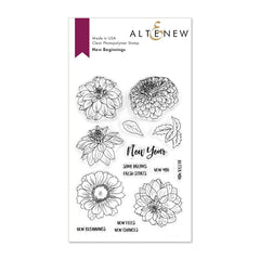 Altenew - Stamp Set - New Beginnings
