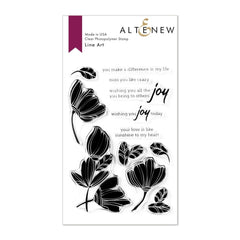 Altenew Line Art Stamp Set
