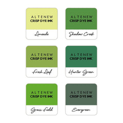Altenew 6 Mini Ink Cube Set - Zesty Limes