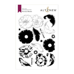 Altenew Precious Blooms Stamp Set 6in x 8in
