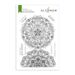 Altenew Blooming Mandalas Stamp Set - 6in x 8in