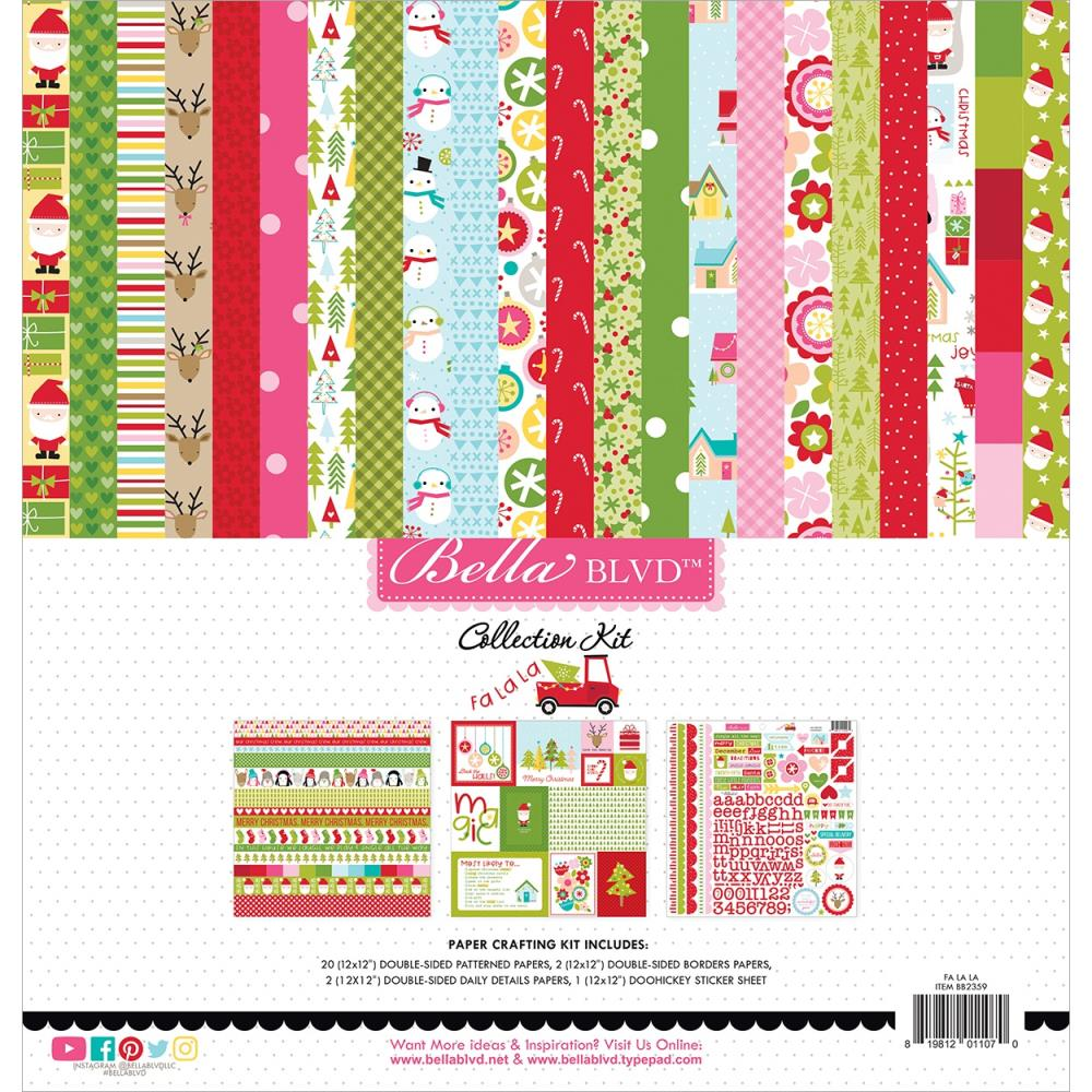 Bella Blvd Collection Kit 12in x 12in - Fa La La