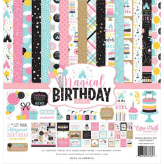 "Echo Park Collection Kit 12""x 12"" Magical Birthday Girl"