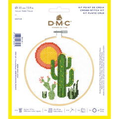 DMC Cross Stitch Kit XS - Cactus (14 Count)