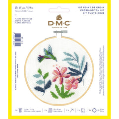 DMC Cross Stitch Kit XS - Exotic Flowers (14 Count)