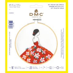 DMC Cross Stitch Kit XS - Carmen (14 Count)
