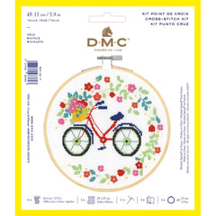 DMC Cross Stitch Kit XS - Bicycle (14 Count)