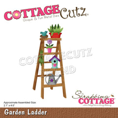 CottageCutz Dies - Garden Ladder 2.1in x 4.6in