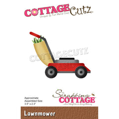 CottageCutz Elites Die - Lawnmower 2.8in x 2.1in