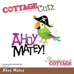 CottageCutz Dies - Ahoy Matey 4.3in x 3.6in