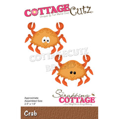 CottageCutz Dies - Crab 2.5in x 1.9in