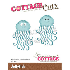 CottageCutz Dies - Jellyfish 2.1in x 3.1in