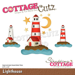 CottageCutz Dies - Lighthouse 2.8in x 3.8in