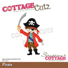 CottageCutz Dies - Pirate 2.6in x 4.2in