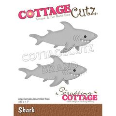 CottageCutz Dies - Shark 3.6in x 1.7in