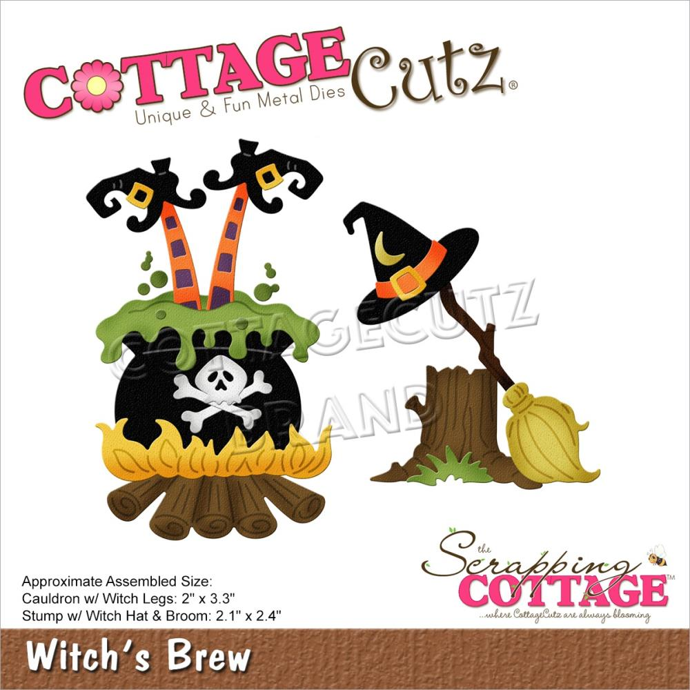 CottageCutz Dies - Witch's Brew 2in  To 3.3in