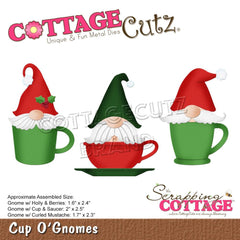 "CottageCutz Dies Cup O' Gnomes 2.5"" To 1.6"""