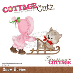 Cottage Cutz Die - Snow Babies