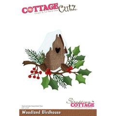 Cottage Cutz Die - Birdhouse with Vine