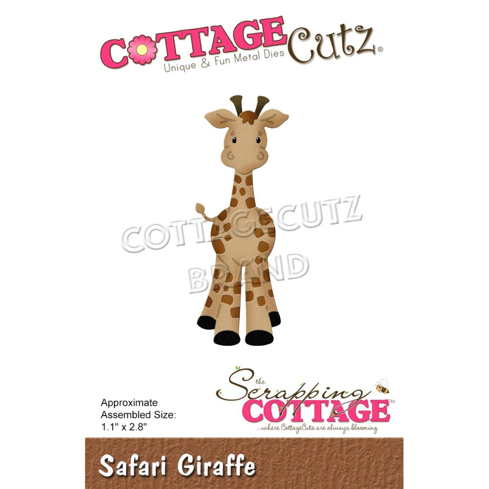 "CottageCutz Dies - Safari Giraffe 1.1""x 2.8"""