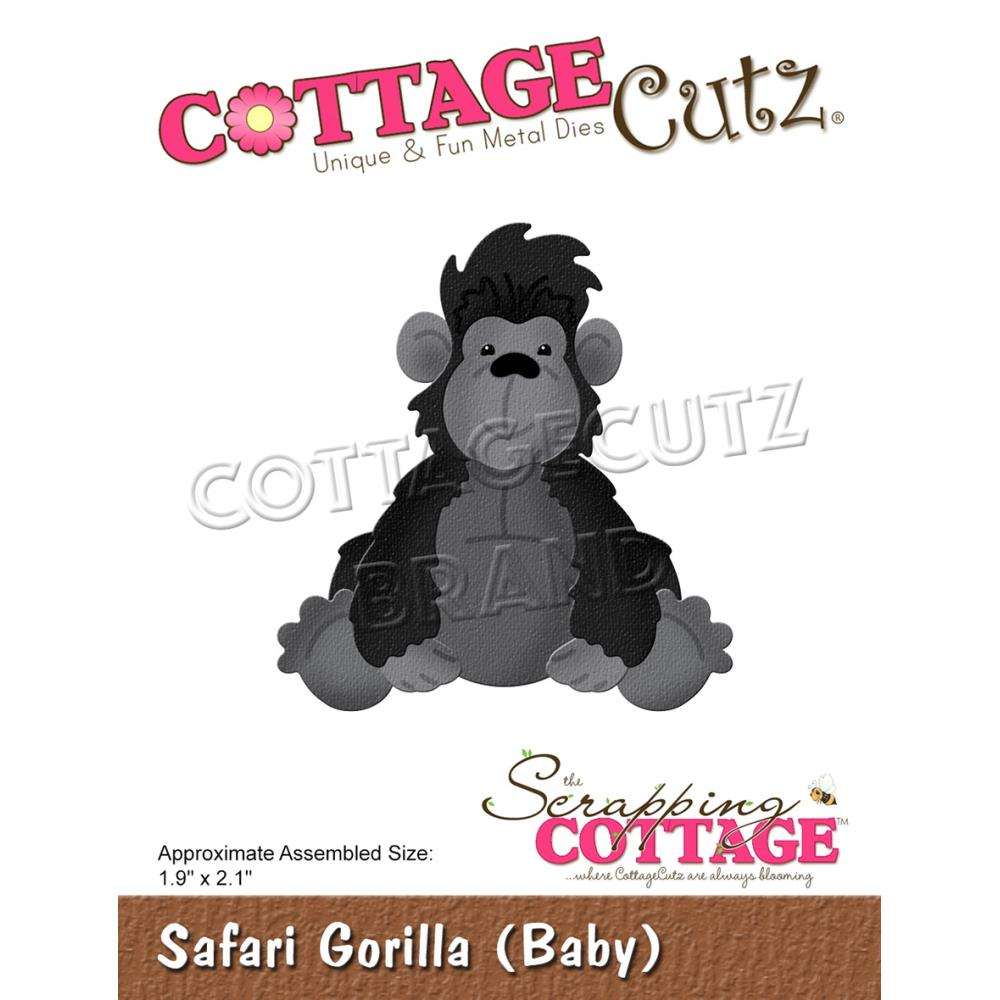 "CottageCutz Dies - Safari Gorilla (Baby) 1.9""x 2.1"""