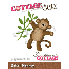 "CottageCutz Dies - Safari Monkey 2""x 2.2"""