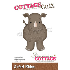 "CottageCutz Dies - Safari Rhino 1.3""x 1.9"""