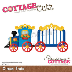 "CottageCutz Dies - Circus Train 4.7""X2.1"""