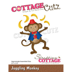"CottageCutz Dies - Juggling Monkey 2.2""X2.9"""