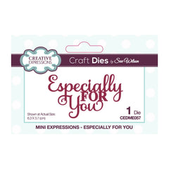 Creative Expressions - Dies by Sue Wilson Mini Expressions Especially For You