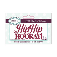 Creative Expressions Die - Noble Expressions - Hip Hip Hooray