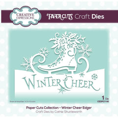 Creative Expressions Paper Cuts Edger Craft Dies - Winter Cheer
