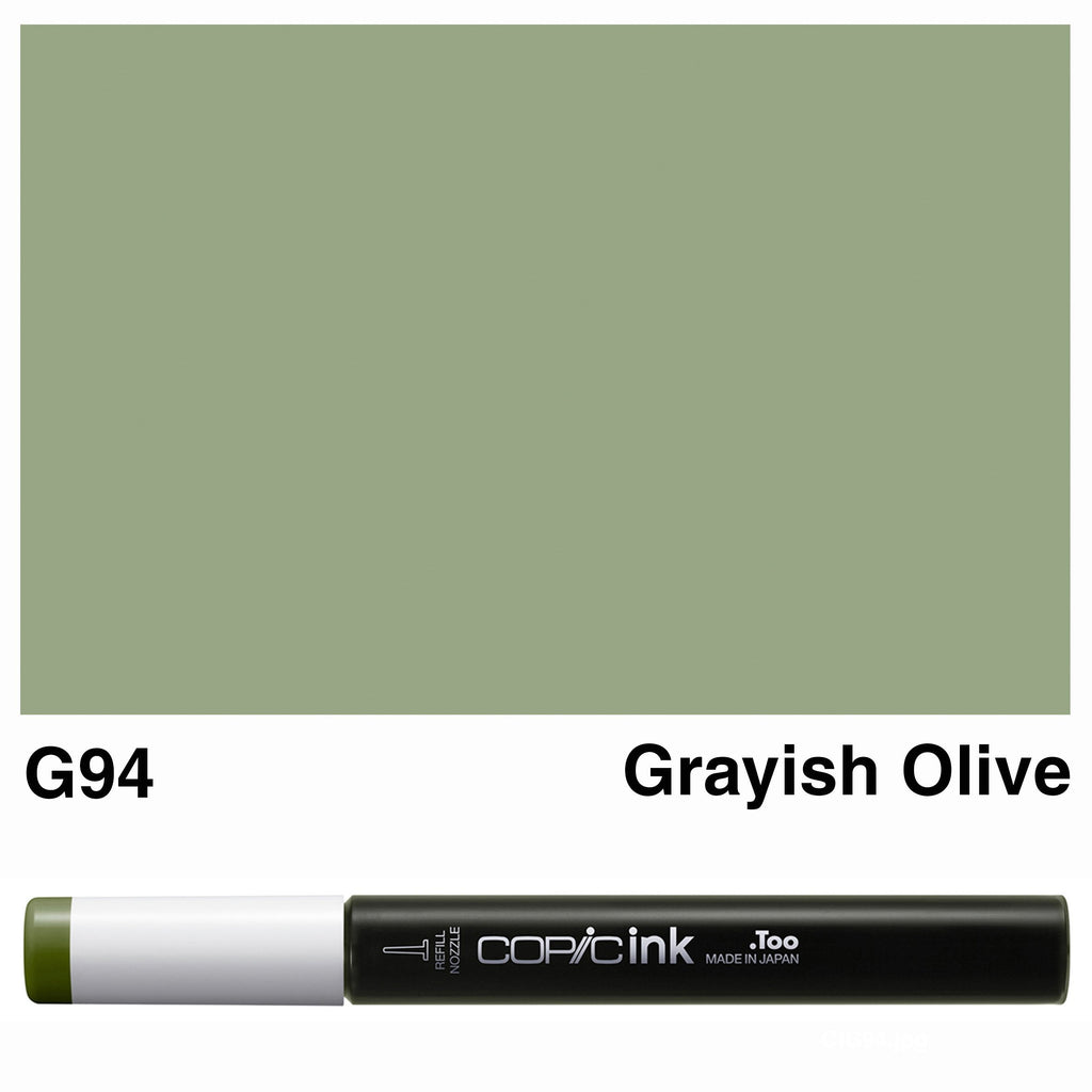 Copic Ink G94-Grayish Olive