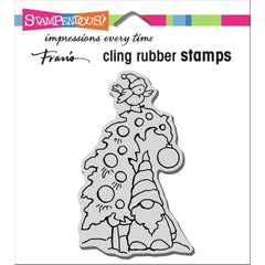 Stampendous Cling Stamp - Gnome Tree